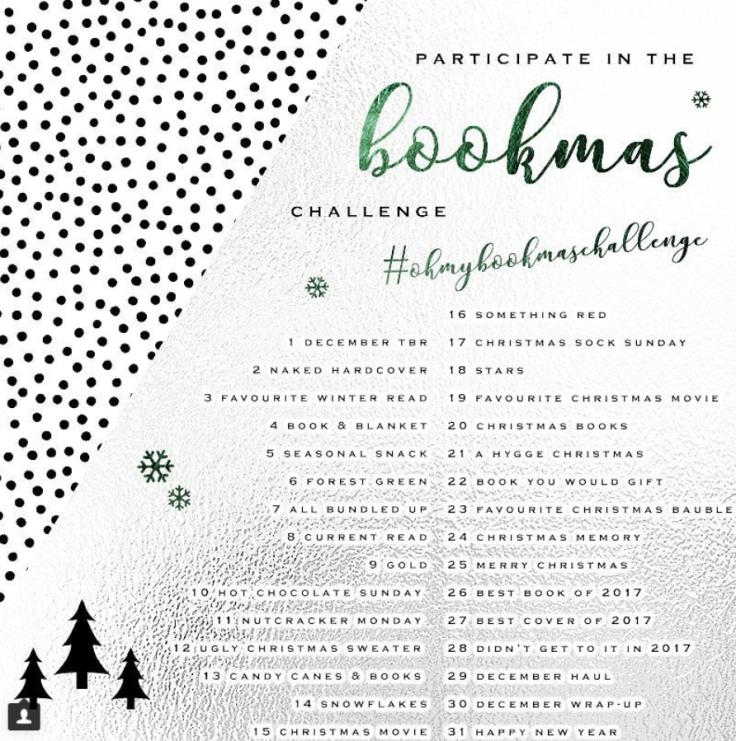 Oh My Bookmas Challenge (ohmybookstagram)